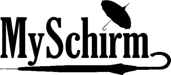 MySchirm Logo - Luxus Schirme - Stockschirme für Damen und Herren