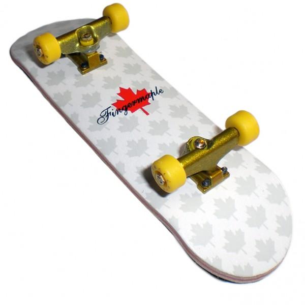 Profi Fingerboard Komplettboard aus Holz Yellow/Gold- Made in USA - Luxury Edition - Profi Fingerboard