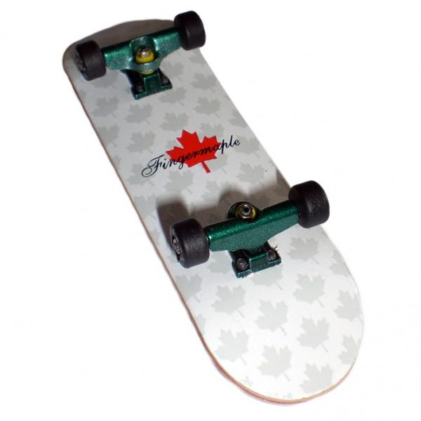 Profi Fingerboard Komplettboard aus Holz Green/Black - Made in USA - Luxury Edition - Absolutes Profi Finger