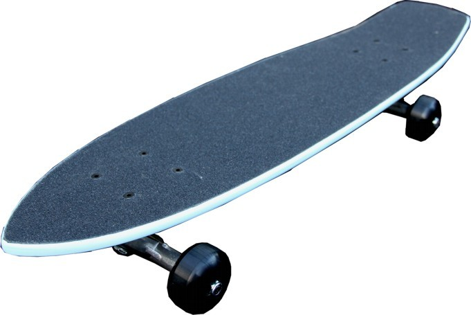 oldschool skateboard cruiser 70s style skyblue mit 125. Black Bedroom Furniture Sets. Home Design Ideas