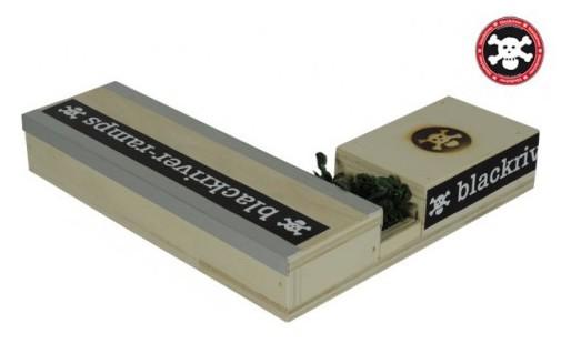 Ramps Fingerboard Box 7 - Fingerboard Rampe Holz Box VII