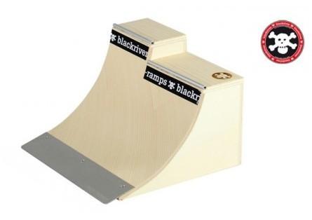 Ramps Fingerboard Rampe Extension Quarter - Holz Fingerboard Rampe