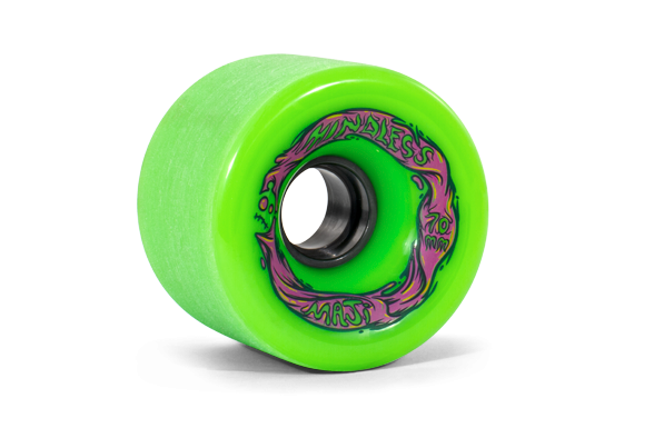 mindless voodoo longboard wheel set 4 rollen maji green. Black Bedroom Furniture Sets. Home Design Ideas